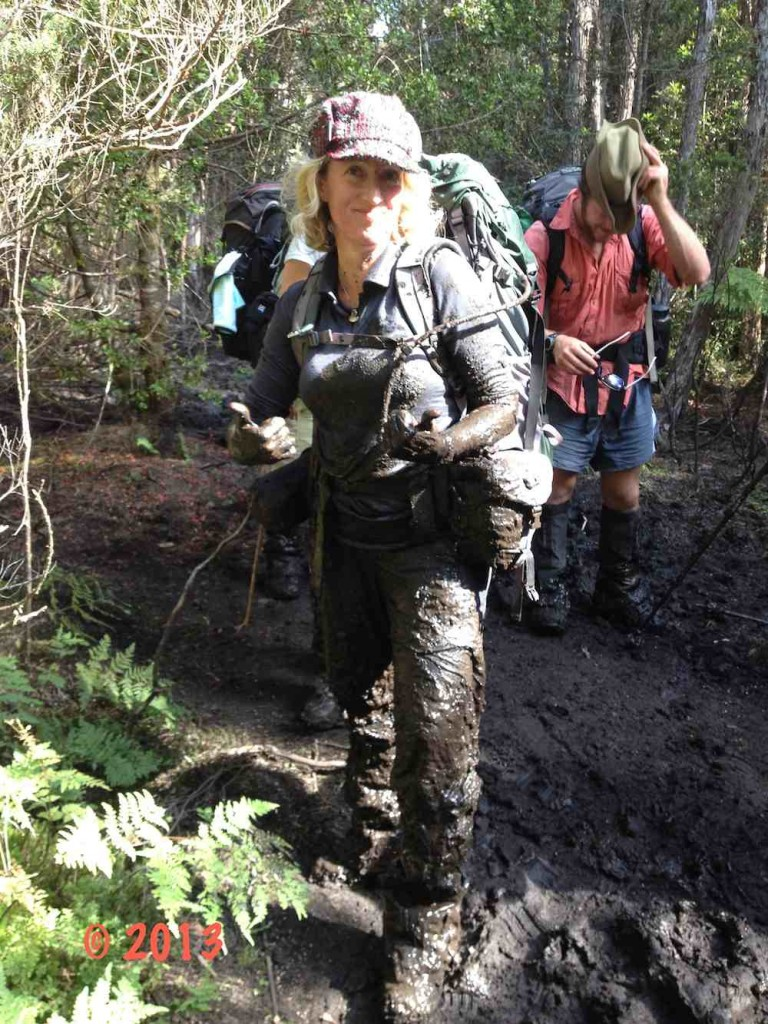 Mud Fall on The Overland Track, Tasmania