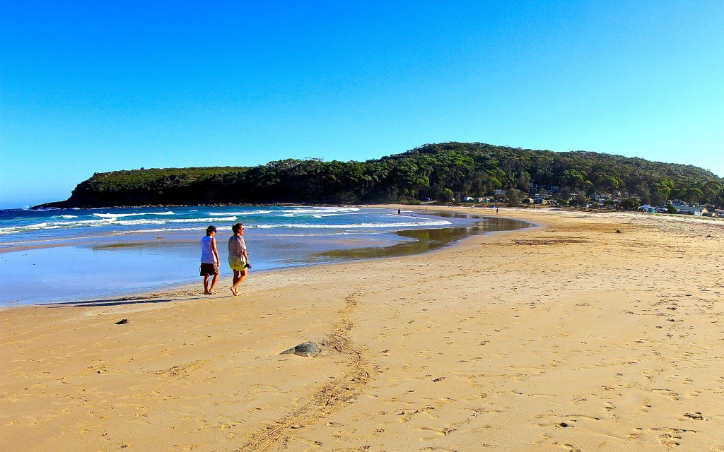 Merry Beach, NSW South Coast, Australia.