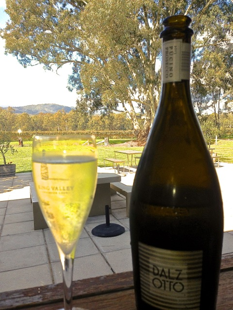 Apertivo at Dal Zotto, King Valley, Victoria.