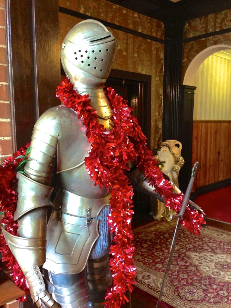 What is a Manor without a Knight? Berida Manor, Bowral, NSW, Australia.