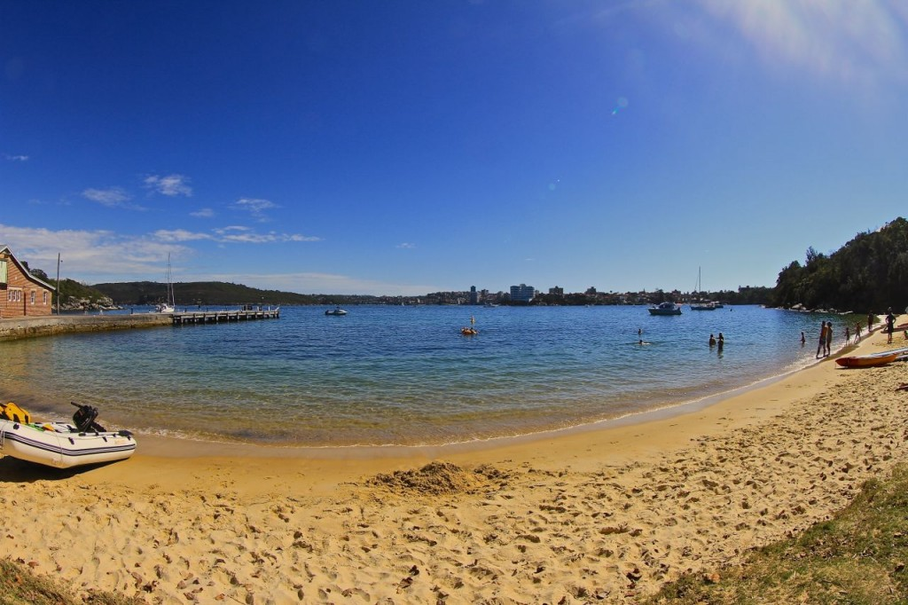 The Q Station beach, Manly, Sydney, Australia.