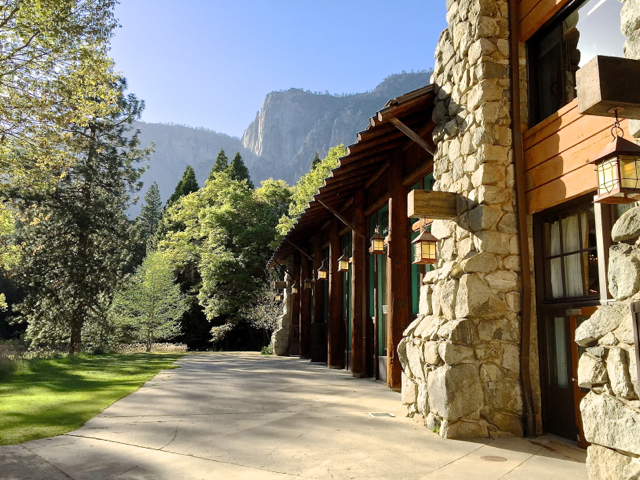 The Anwahnee, Yosemite National Park, California, USA.