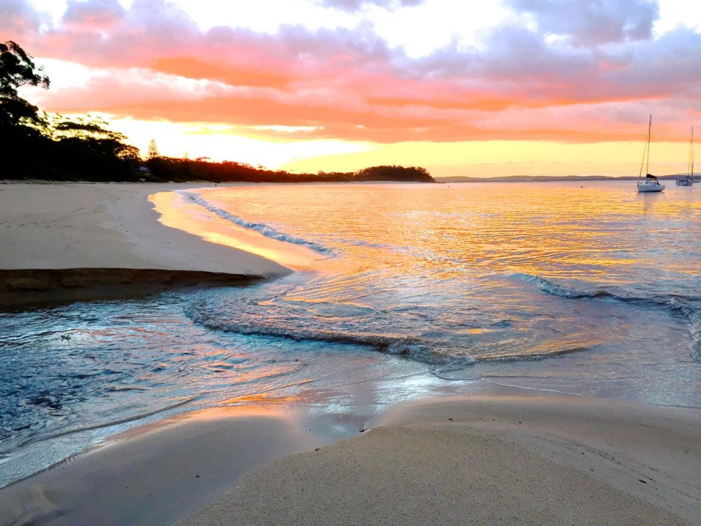 Shoal Bay, Port Stephens, NSW Australia.