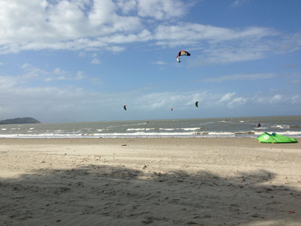 Kitesurfers Paradise, Four Mile Beach, Port Douglas, Queensland Australia.