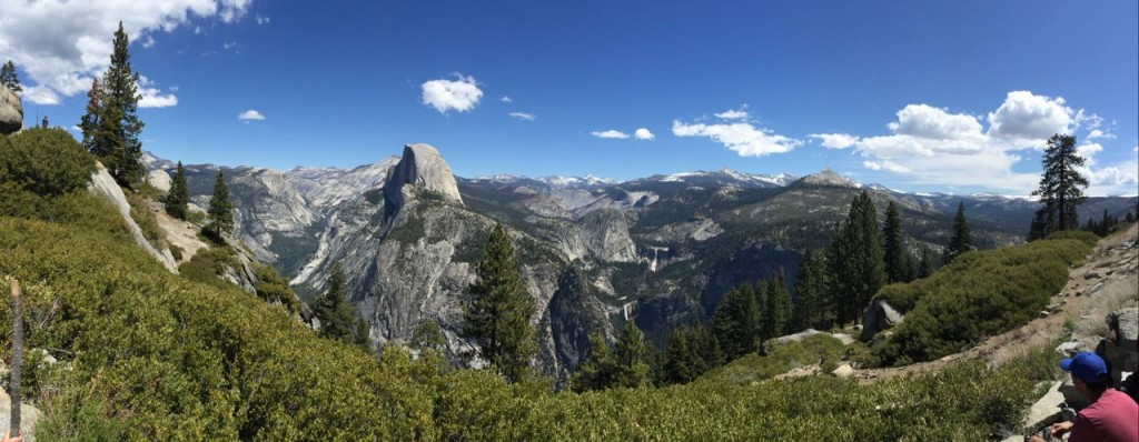 Olmsted Point, Yosemite National Park,, California, USA.