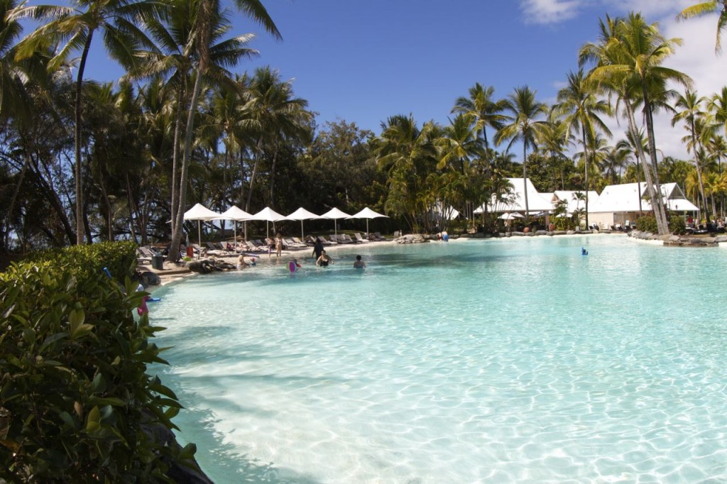 Lagoon Pools, Sheraton Mirage, Port Douglas, Queensland, Australia.