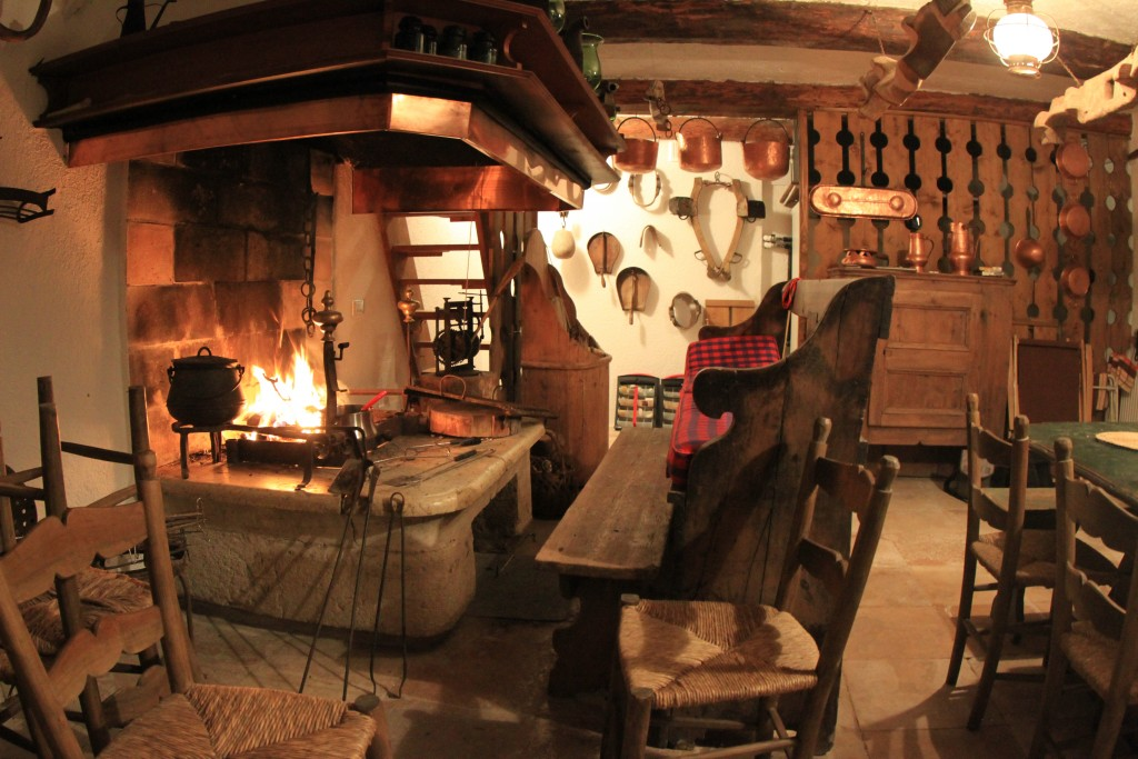 Our 400 year old party room, Selva di Cadore, Dolomites, Italy.
