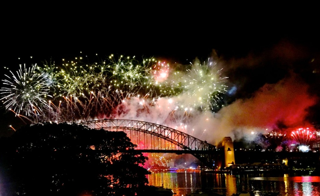 Glorious Sydney. New Years Eve 2014, Sydney, Australia.