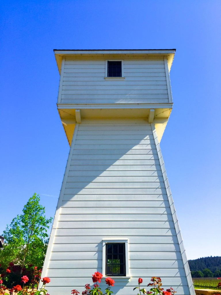 The Water Tower, Silver Oak, Napa, California, USA.