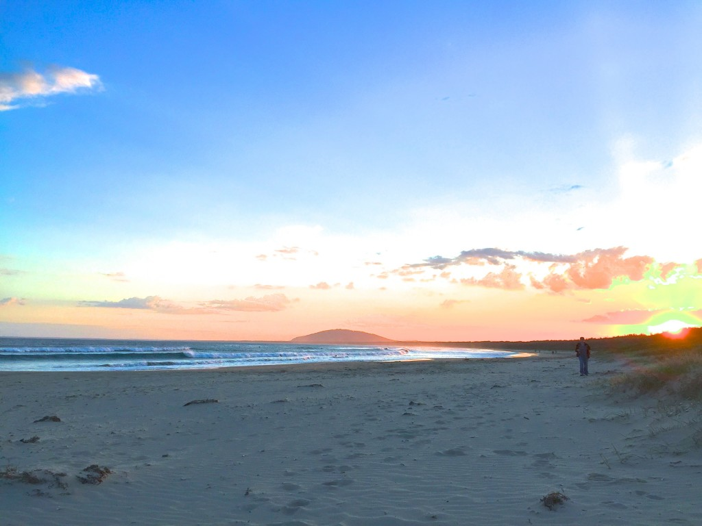 Magical Sunsets at Gerroa. Seven Mile Beach, Gerroa, NSW, Australia.